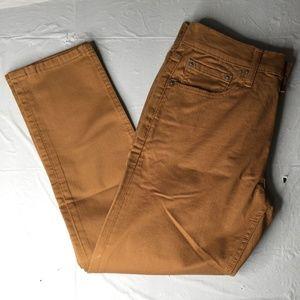 Levi's 512 Brown 2-Way Stretch Jeans 29 X 32 F23